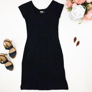 ATHLETA Black Bodycon Bandage dress